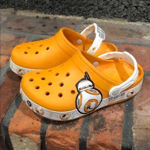 Star Wars Bb8 Orange Crocs size J -2